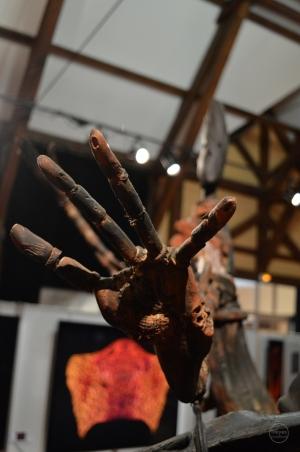 "Exposition ""Mosaïques"" 2017, sculpture de Hans Jorgensen."