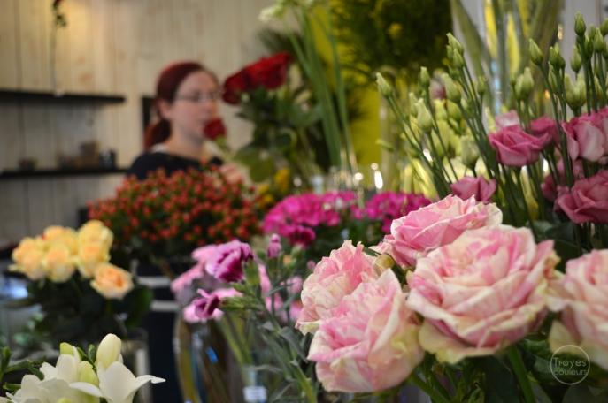 Lydie, Jeune Pousse, artisan fleuriste.