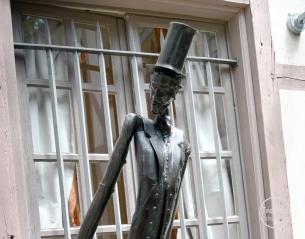 Sculpture de Harry Dam.