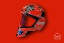Work in progress : masque de gardien de hockey pour Benjamin Heintz, Troyes Roller, design Nicolas Ginder O.C.D.