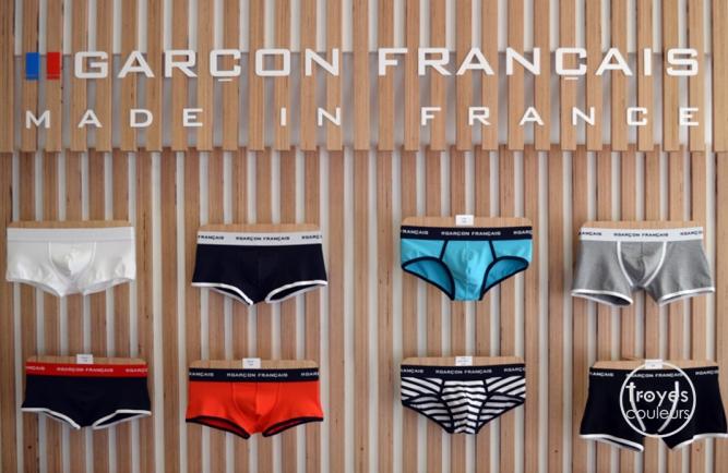 Boutique Garçon Français.