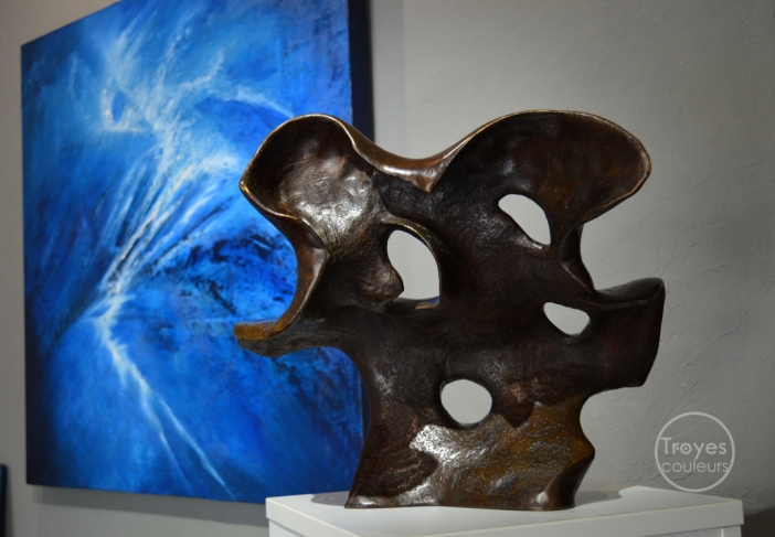 Exposition à la galerie PASSEART, aux côté des œuvres du peintre Piero Cavalleri