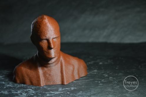 Buste, scan 3D