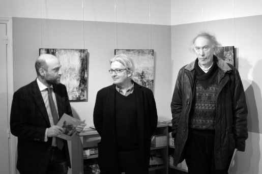 Pascal Veysset-Rapaport, Manu Rich, et Christian Noorbergen.