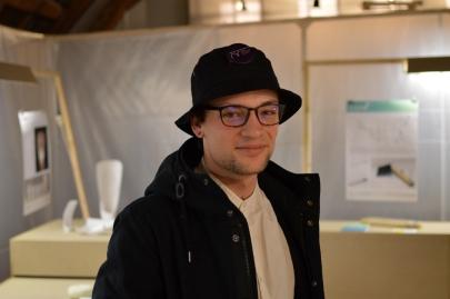 Théo Cherrier, étudiant en 3ème année.