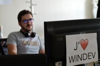 Kevin Pidoff, développeur... WinDev !